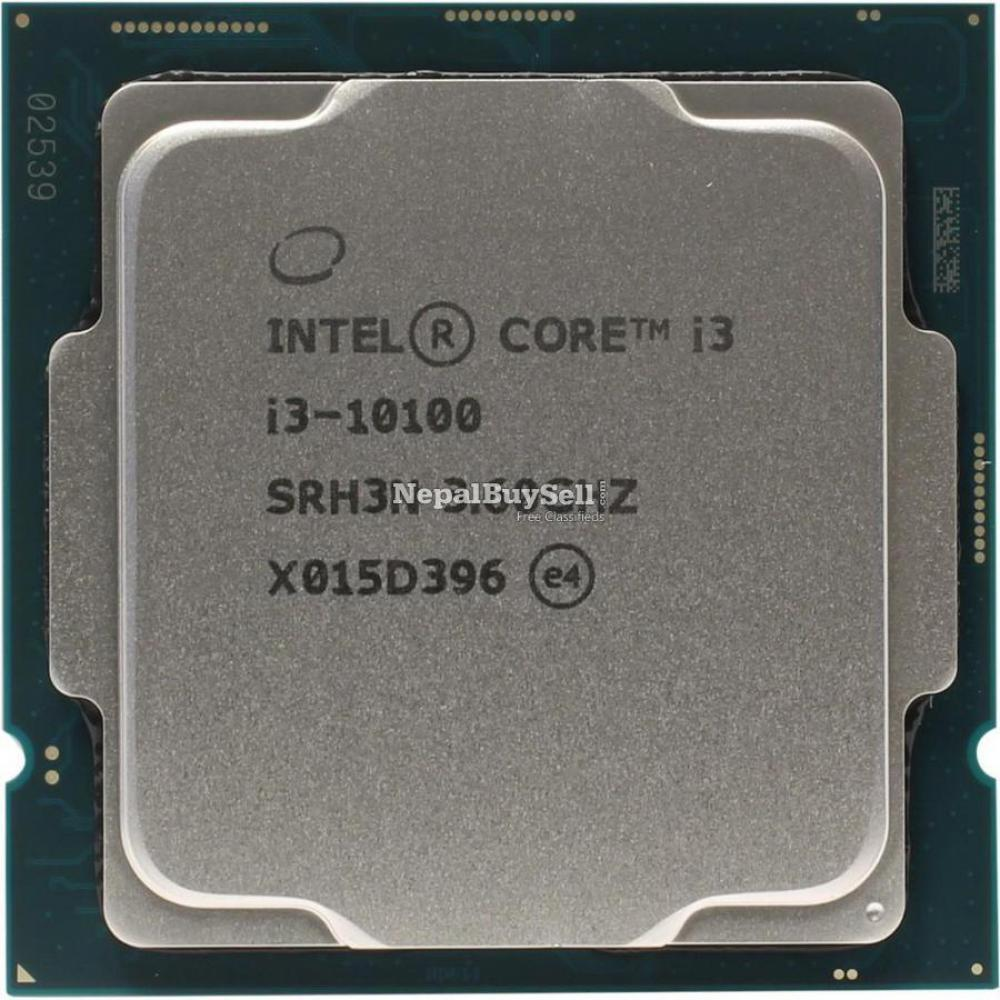 Intel Core I3-10100 Processor 6m Cache, Up To 4.30 Ghz With 3m Wrnty. G - 1/1