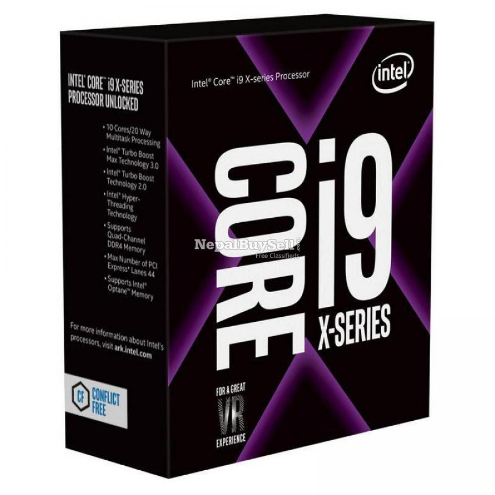 Intel I9 9900x 9th Gen Processor With 3m Warranty G. - 1/1