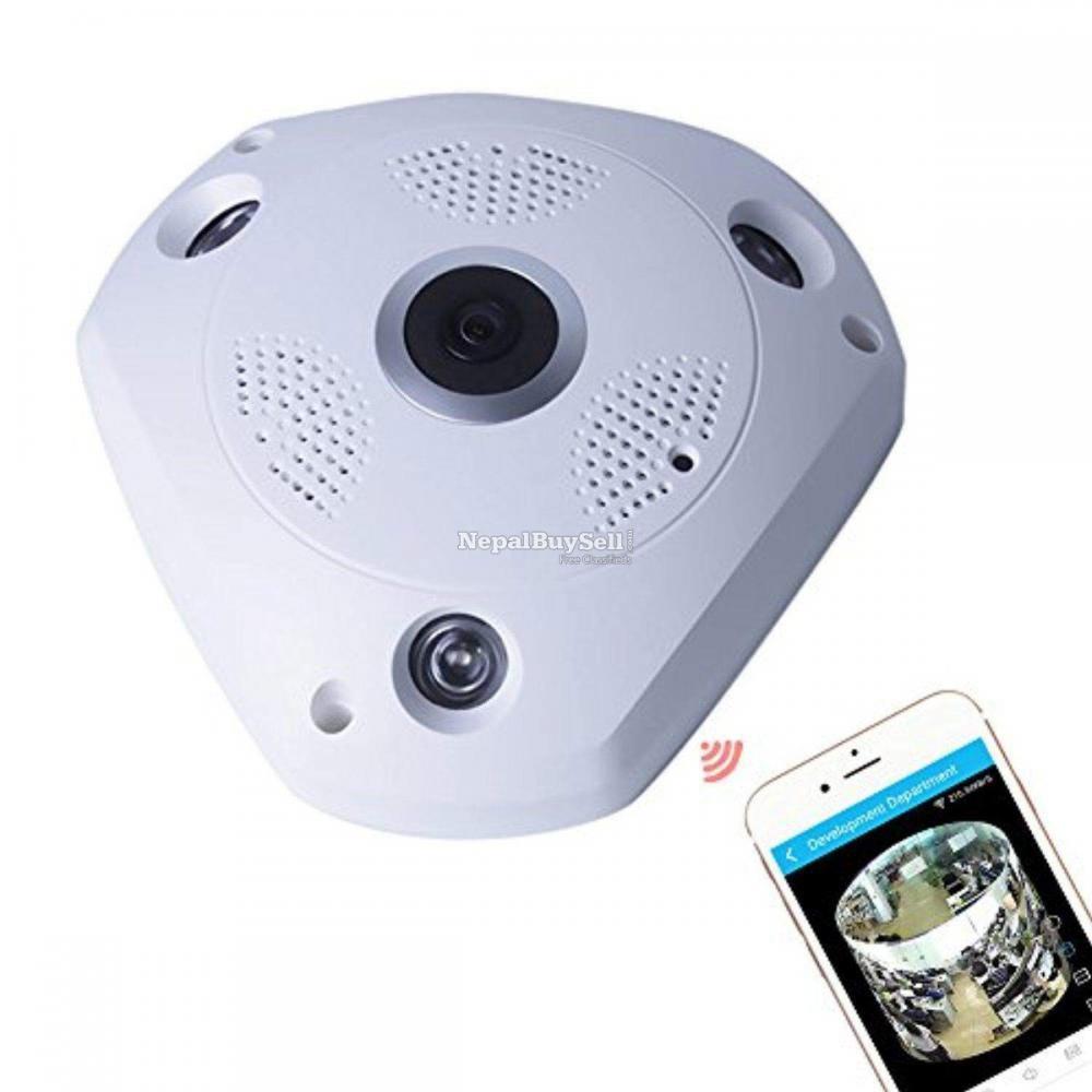 360 Panaromic Ip Surveillance Wifi Camera - 1/1