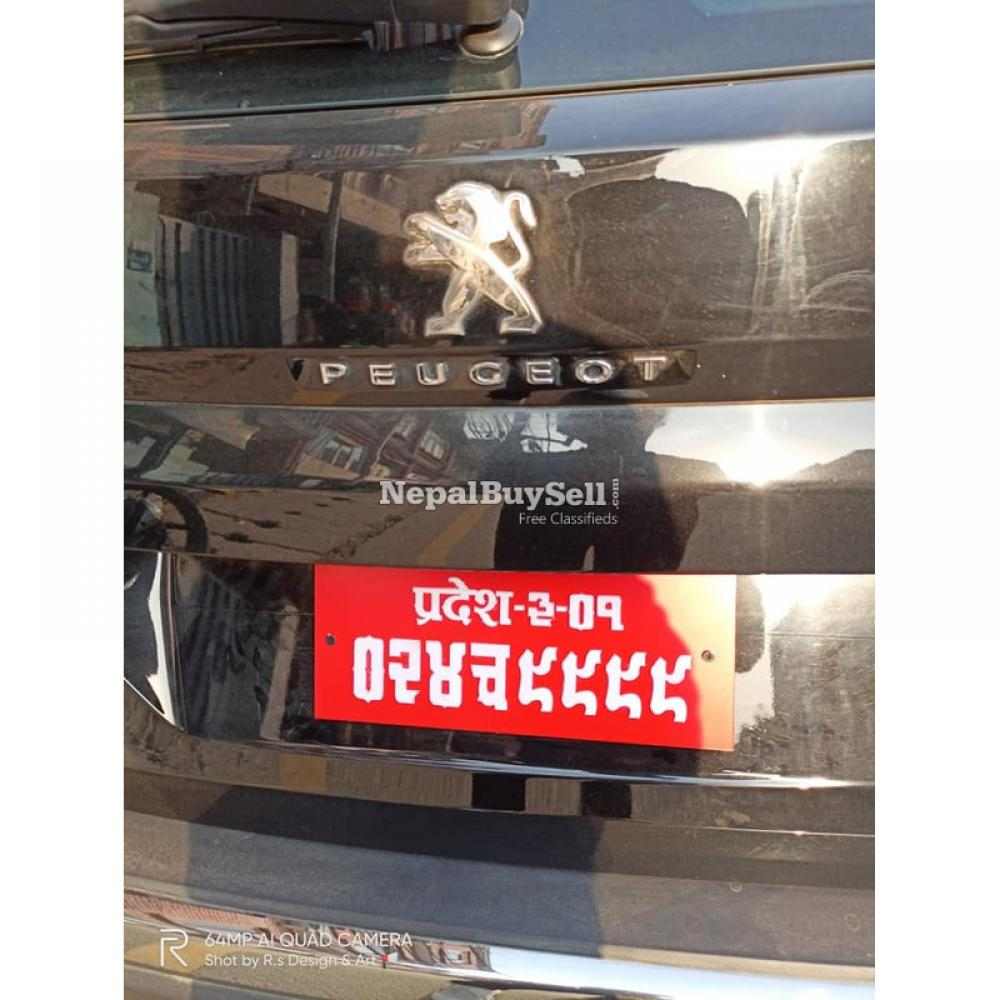 3D number plate - 4/5