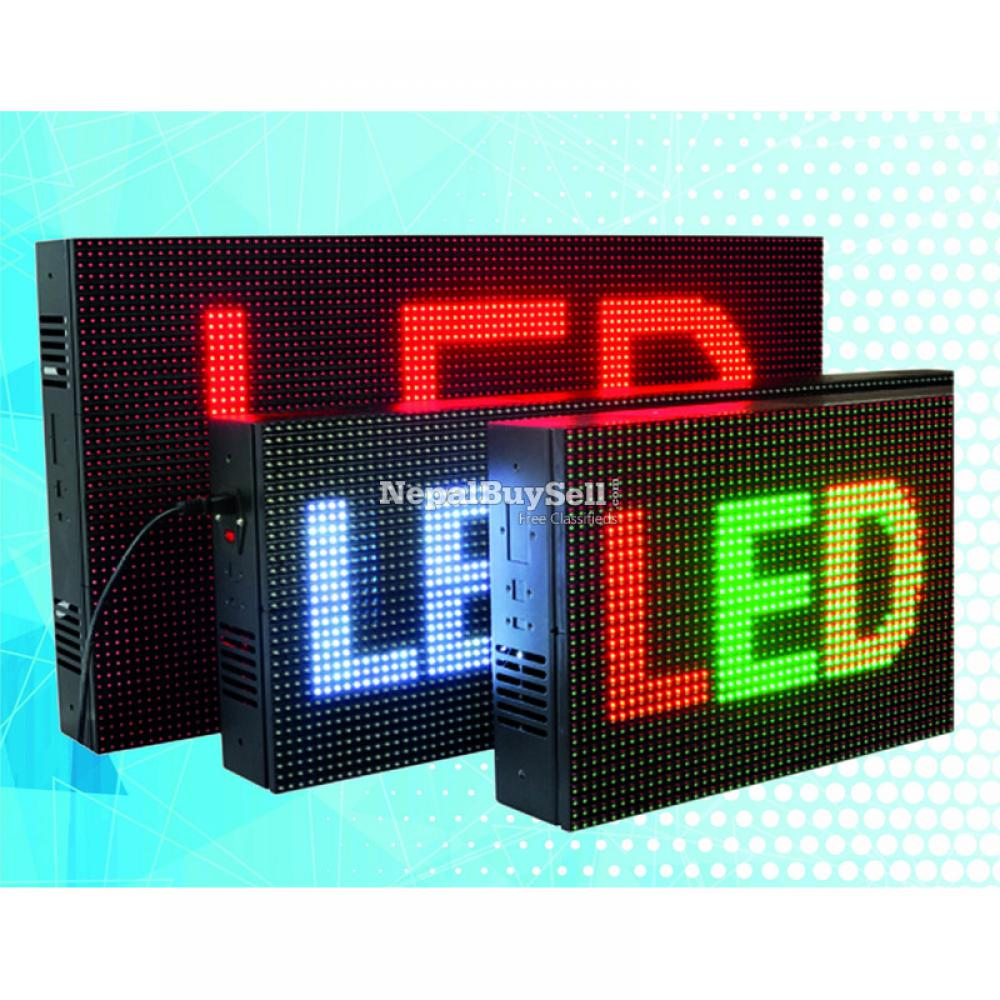 LED Screen Display/Scrolling Board, display your business - 1/3