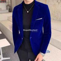 Geanes feancy velbet coat