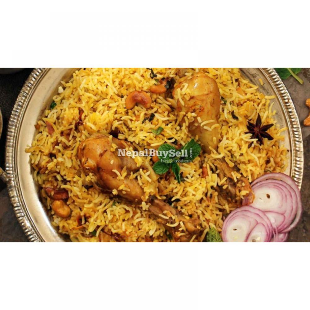 Momo, chomin ,briyani, fry rice home delivery - 1/4
