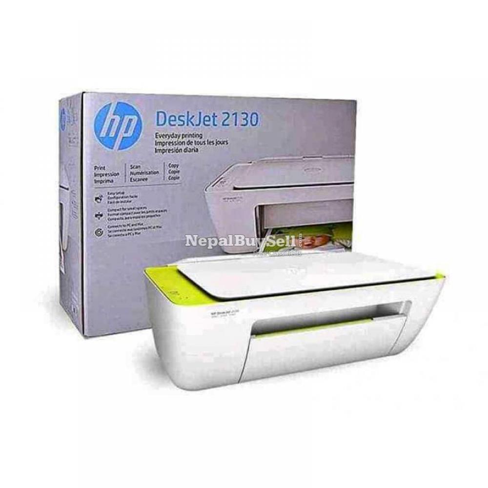 Hp 2130 3 in 1 colour printer Print copy scan - 1/4