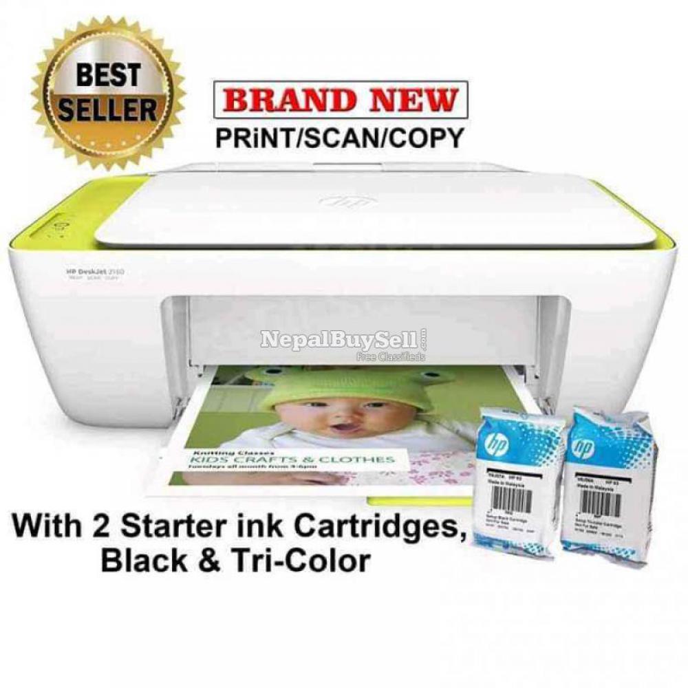 Hp 2130 3 in 1 colour printer Print copy scan - 2/4