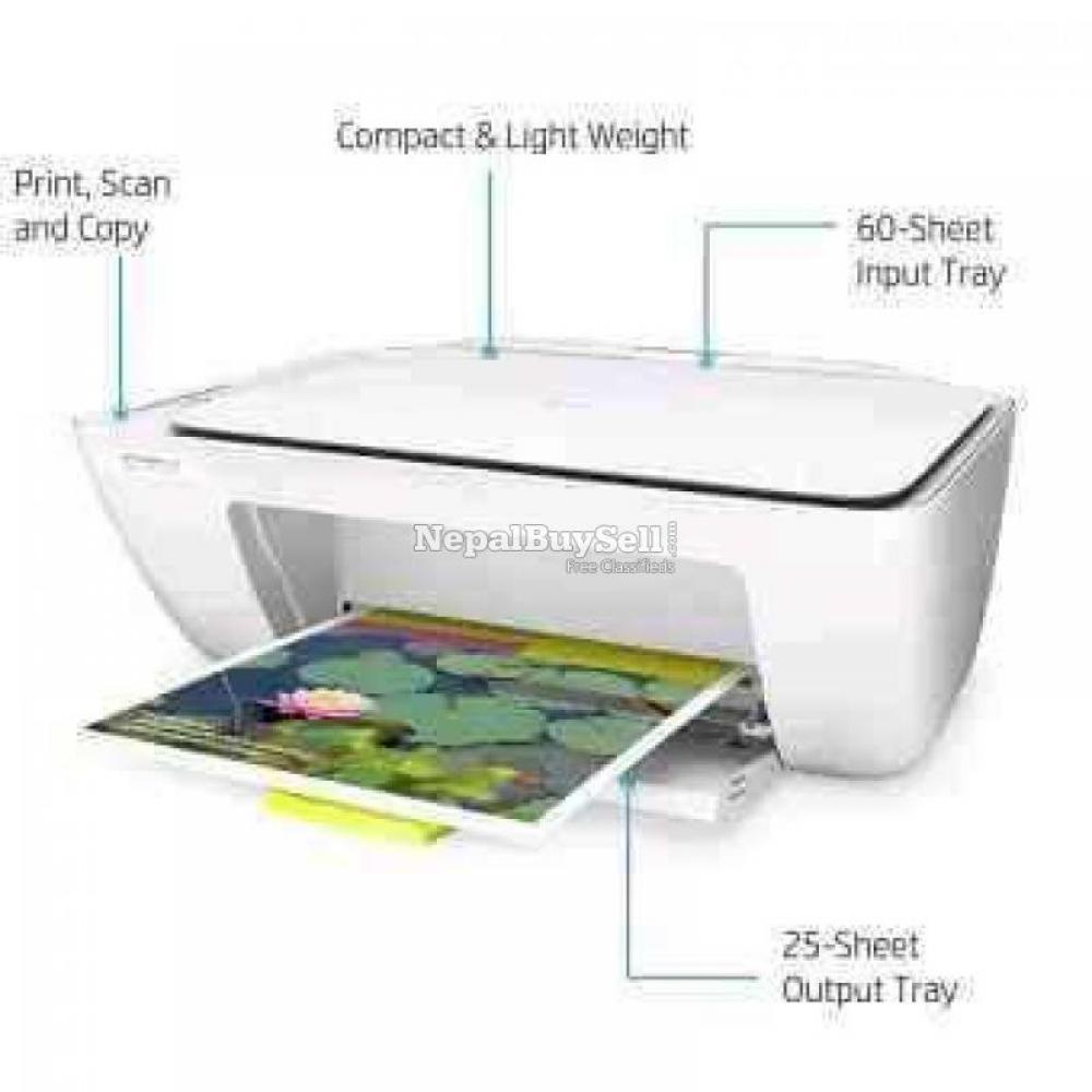 Hp 2130 3 in 1 colour printer Print copy scan - 3/4