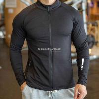 Sports and leisure jacket men's autumn and winter zipper long-sleeved jacket