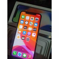Iphone x with box and al accessories