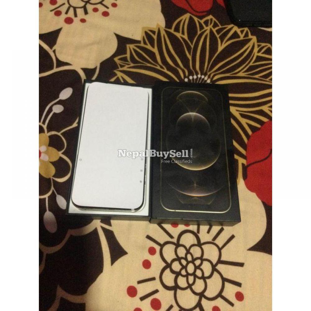 Iphone12 Pro Max 256 gold USA 5g sensor plus AirPod Pro - 1/9