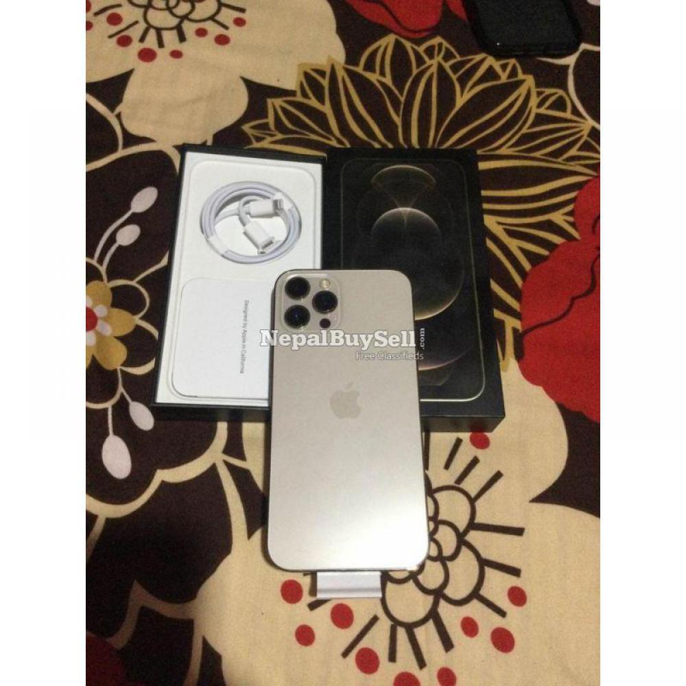 Iphone12 Pro Max 256 gold USA 5g sensor plus AirPod Pro - 6/9