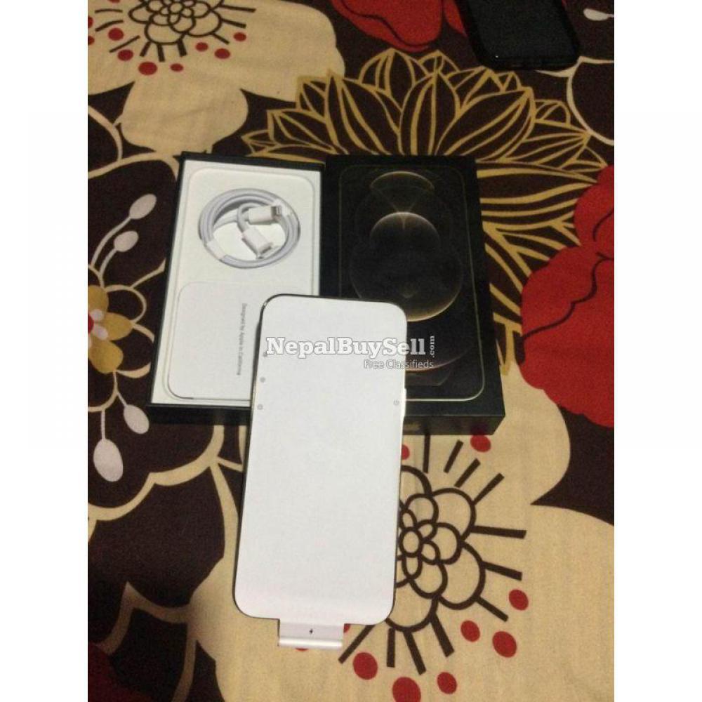 Iphone12 Pro Max 256 gold USA 5g sensor plus AirPod Pro - 7/9
