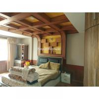 VIP area ma VIP ghar. ring rod najik fully modular furnished house sale