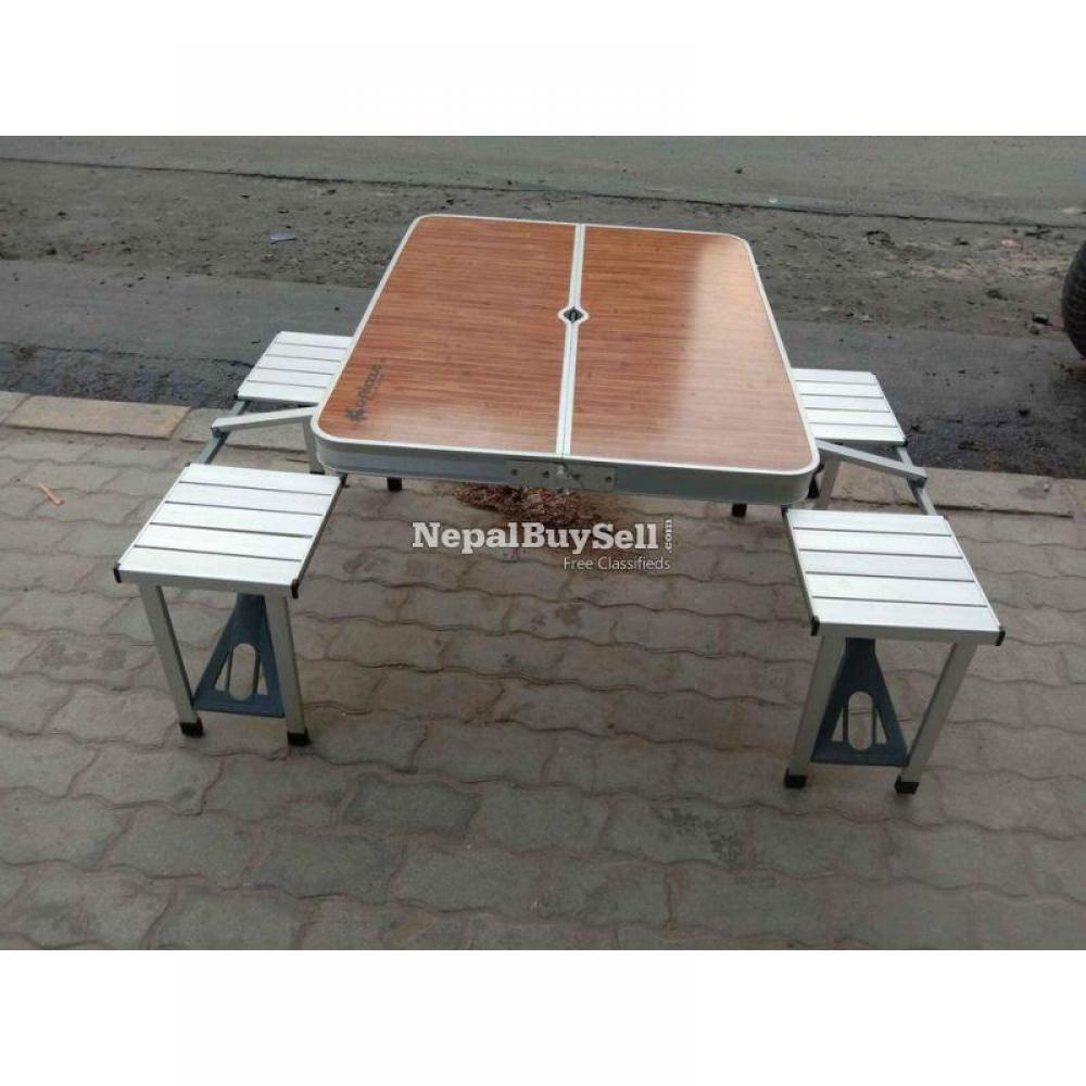 Aluminum Folding table - 1/1
