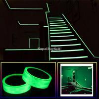 5m X 24mm Luminous Radium Tape Sticker Removable Waterproof Glow