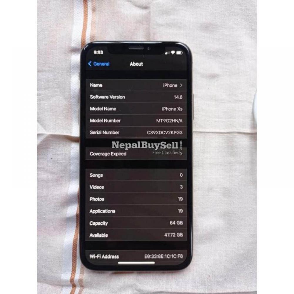 I phone xs Urgent sell - 5/5