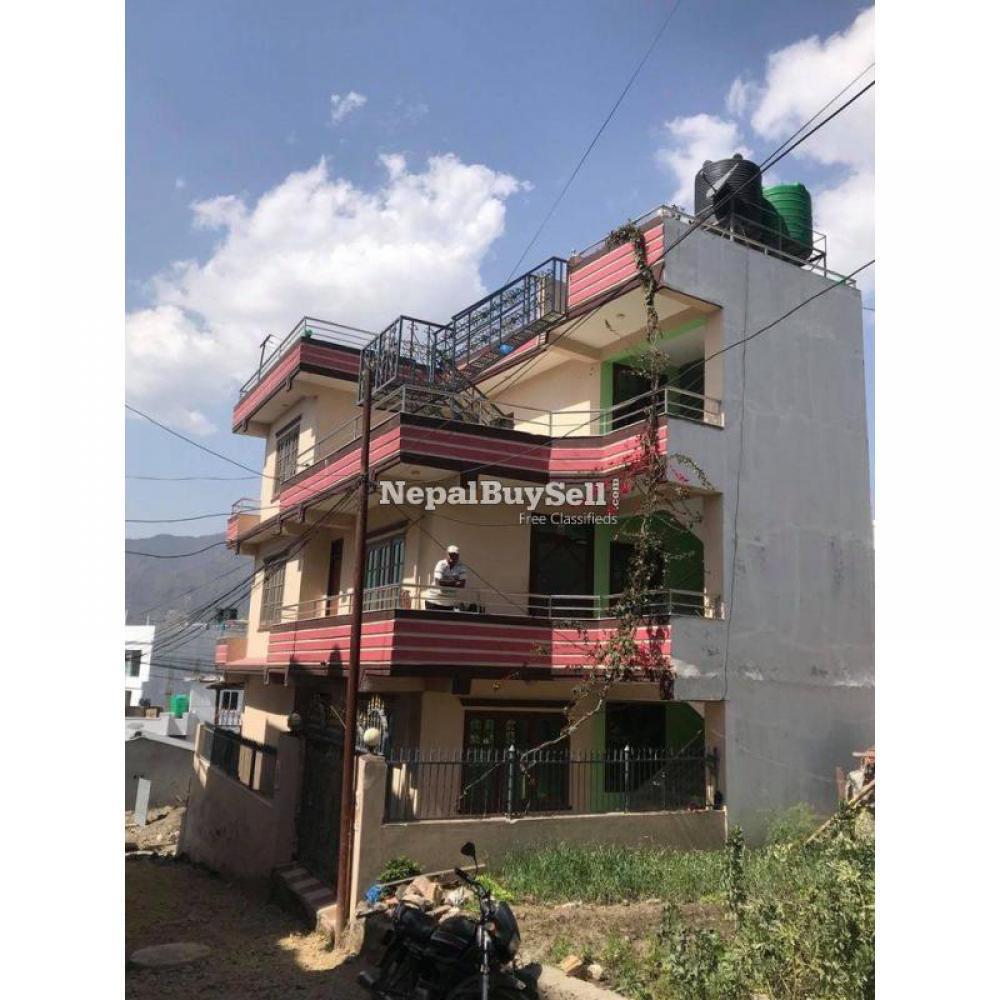 Beautiful New Semi-commercial House sell at kathmandu - 1/2
