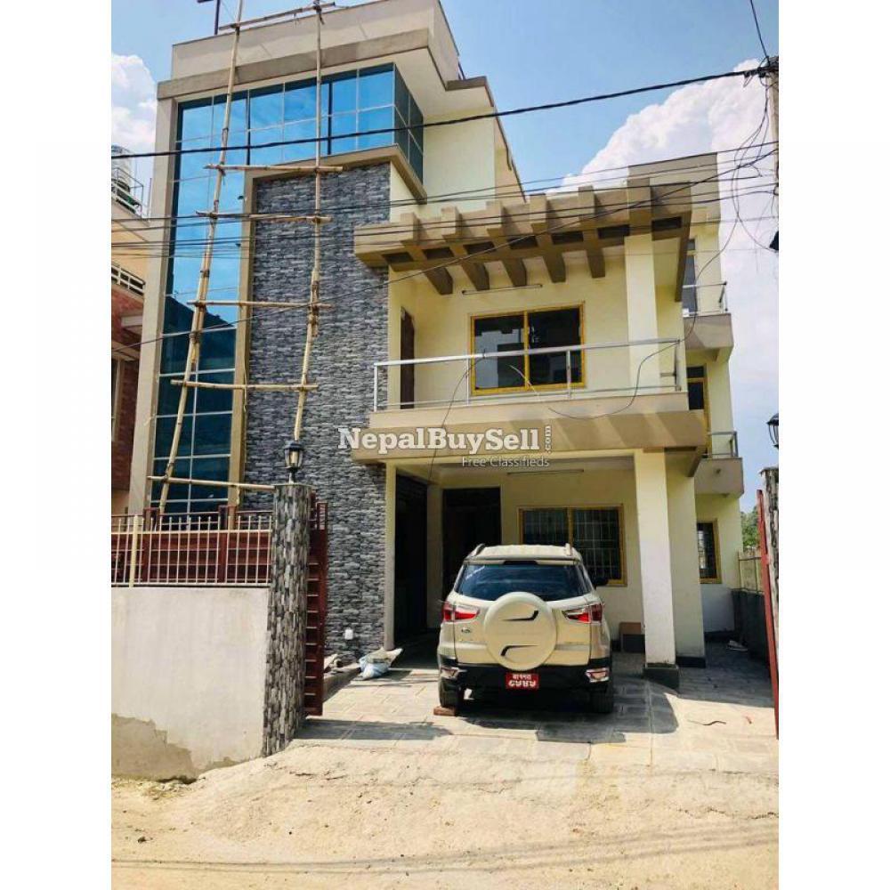 New house at nakhipot kantipur coloni - 1/18