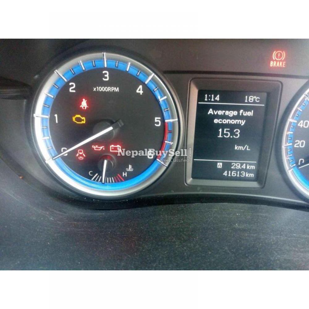 2016 Suzuki S cross mini suv.. with bank - 6/9