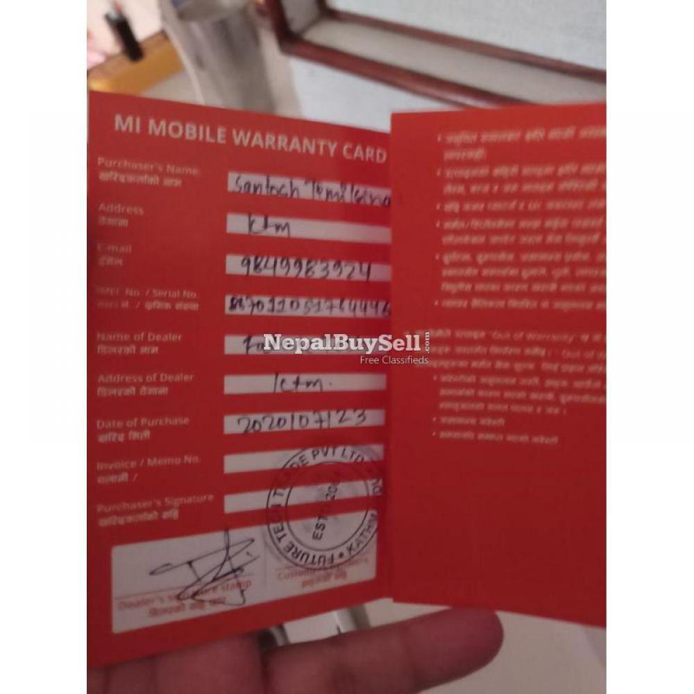 Redmi Note 9 ( 4gb - 128gb ) - 4/6