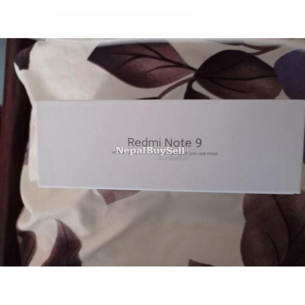 Redmi Note 9 ( 4gb - 128gb ) - 5/6