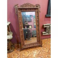 Intricately Handcarved Mirror Frames