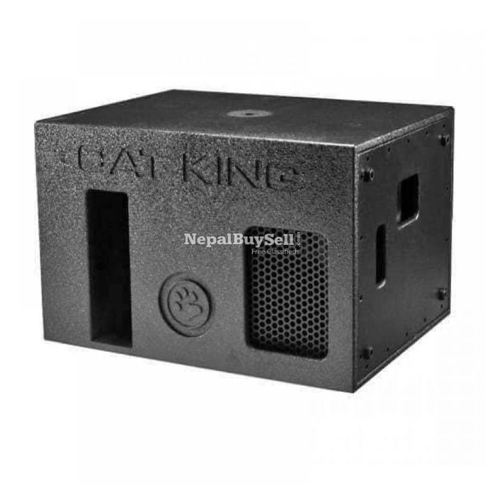Catking sub bass, single low speaker 1 pair - 1/1