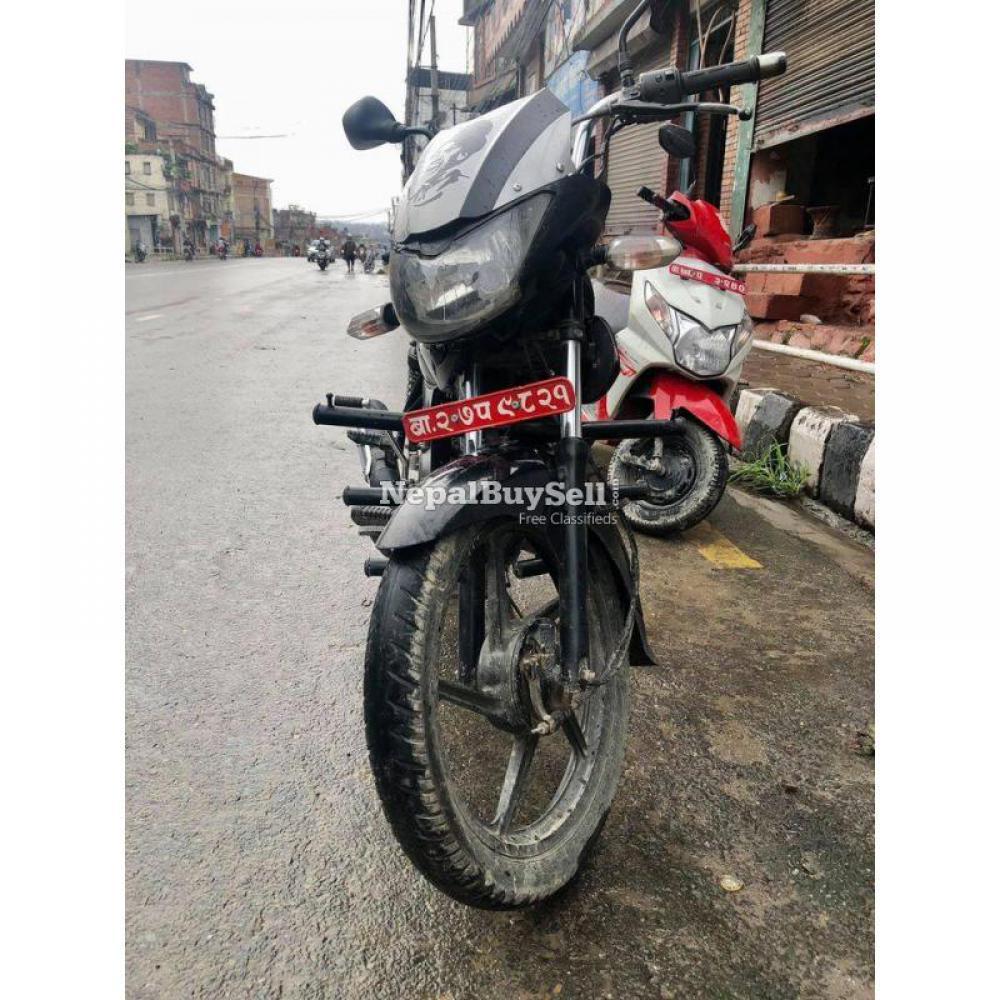 XCD125 mileage bike - 3/4