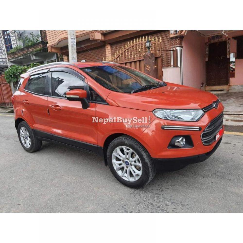 2014 Ford ecosport titanium diesel - 1/7