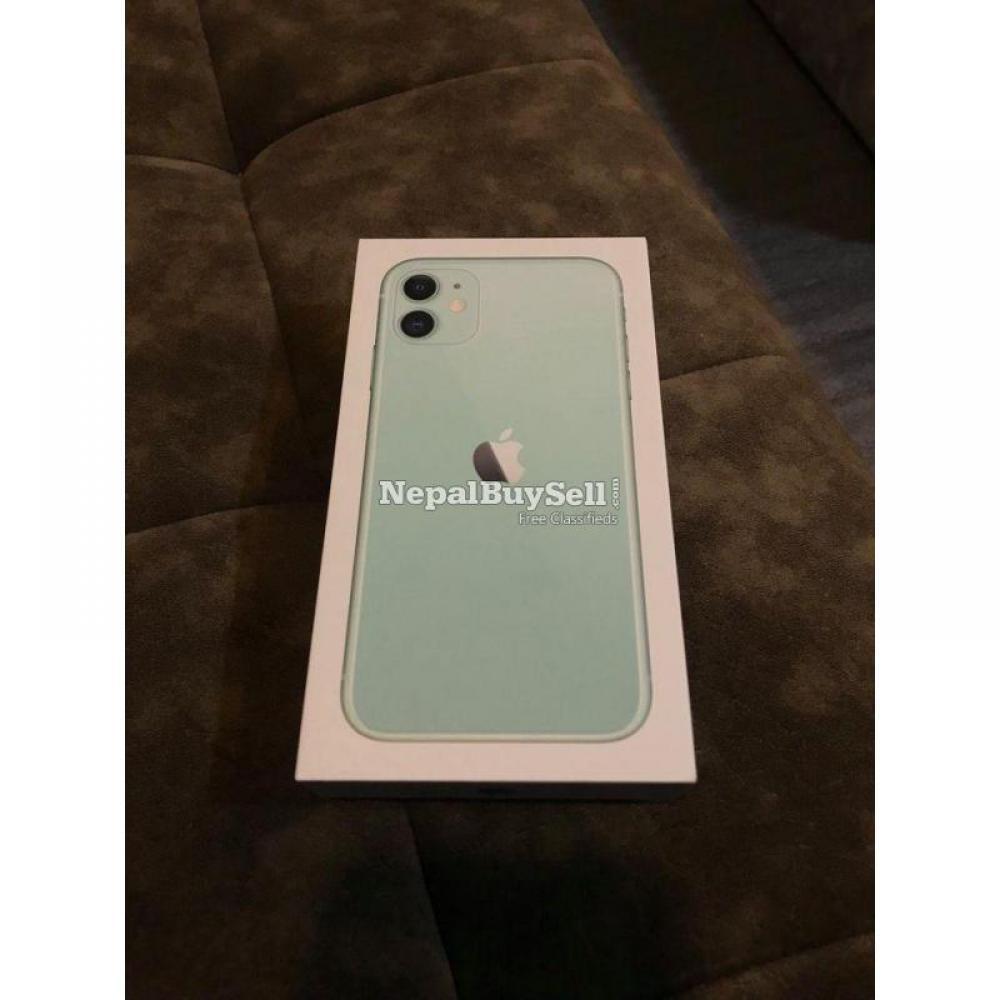 Brand New iPhone 11 128GB Green - 1/2