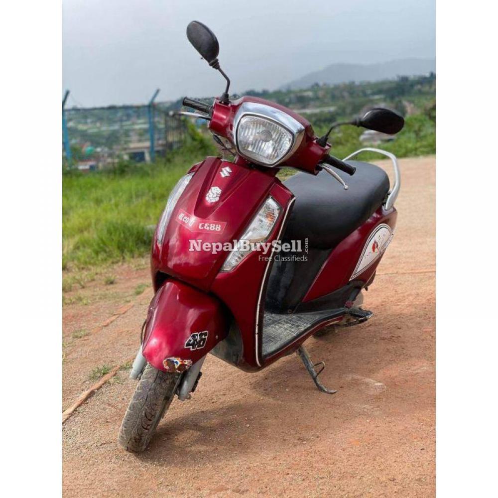 Suzuki scooty 125cc single hand 90 lot - 1/4
