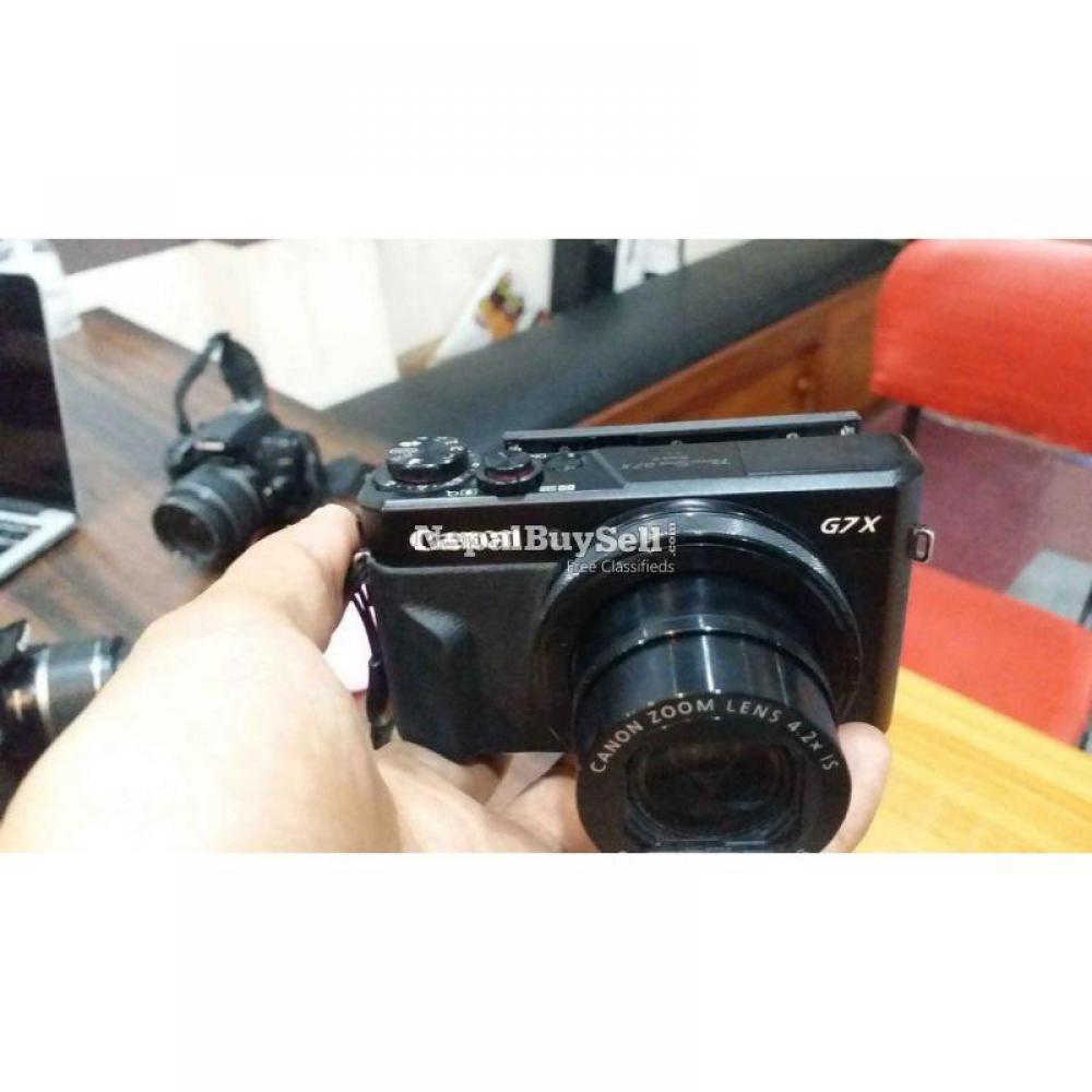Canon G7X Mark II - 1/8