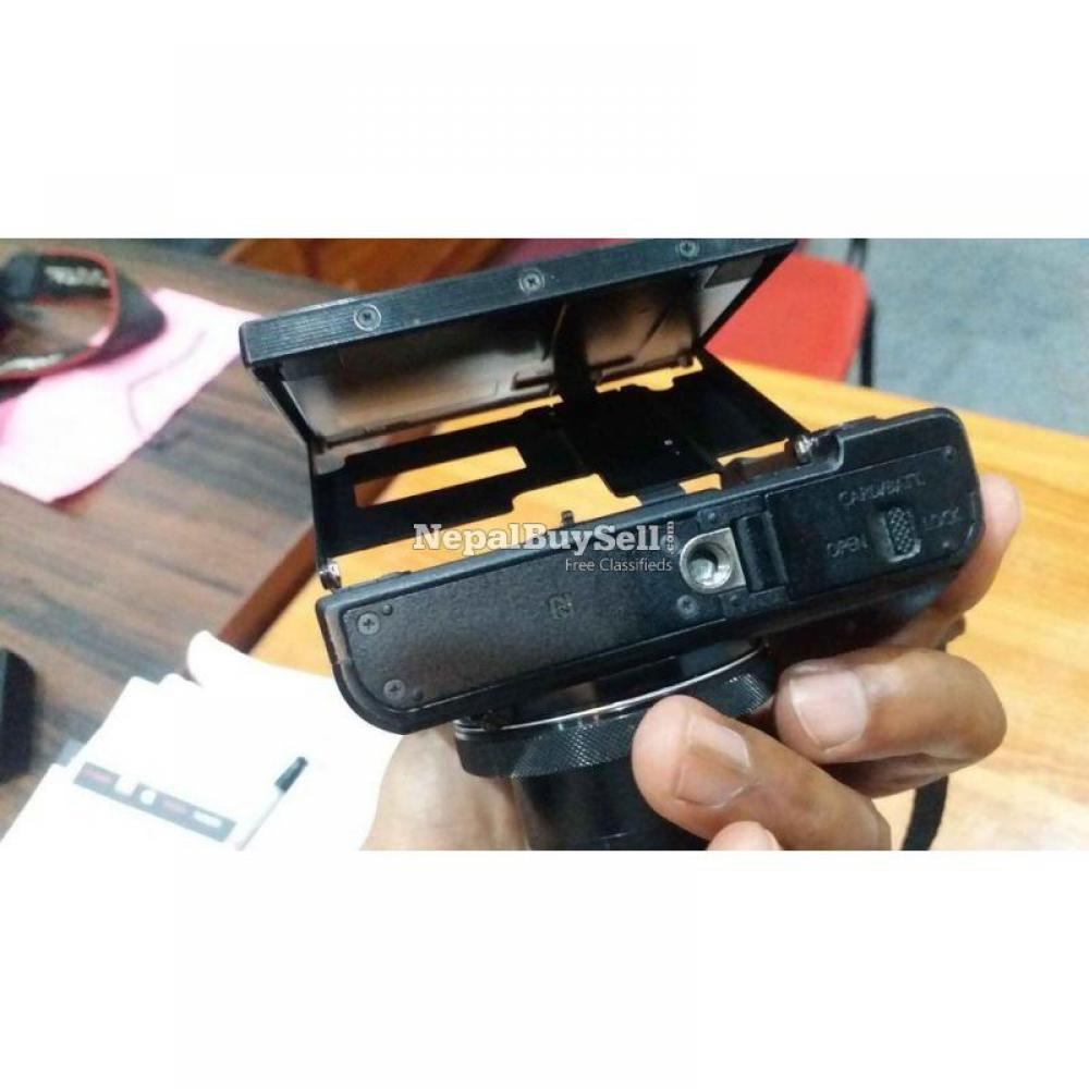 Canon G7X Mark II - 3/8
