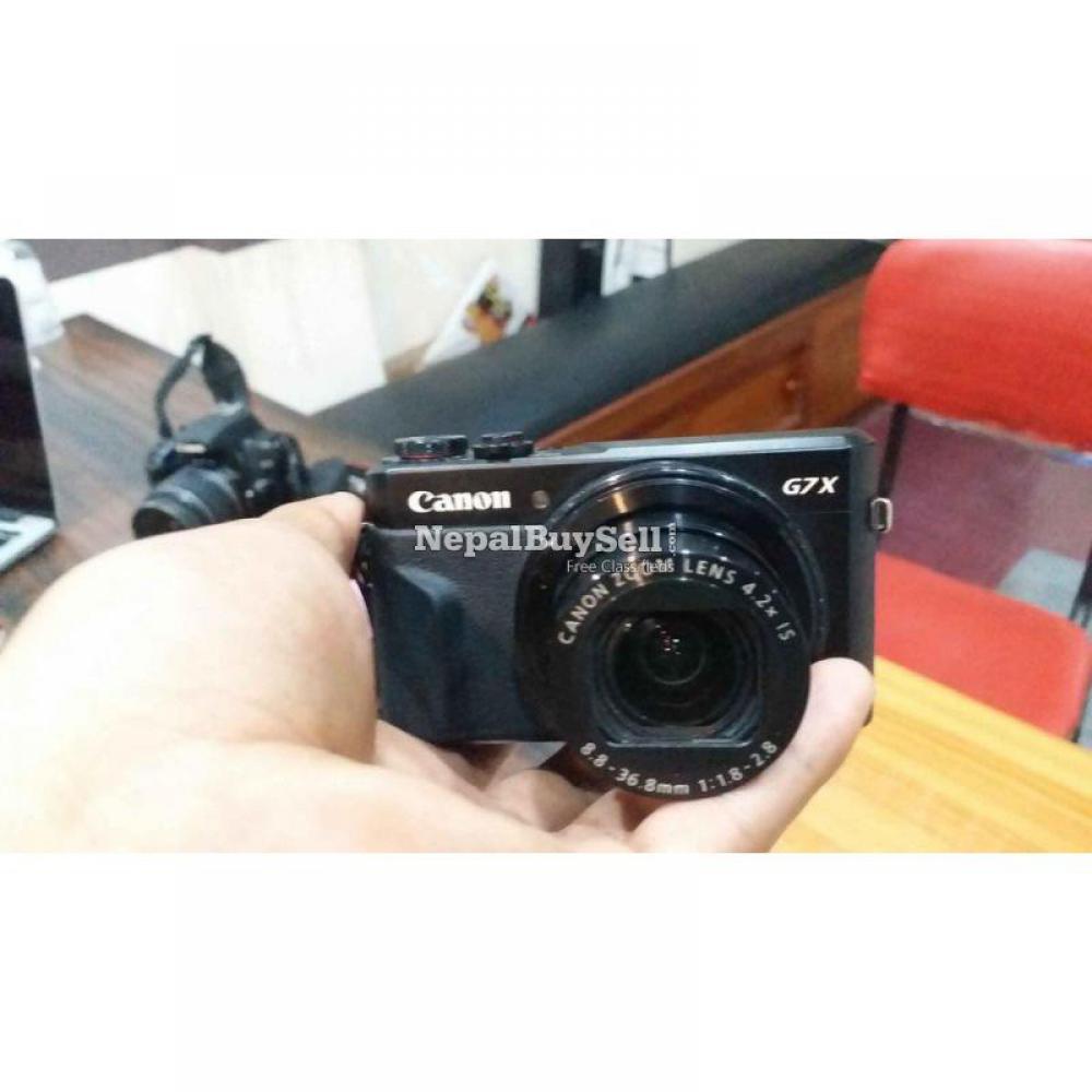 Canon G7X Mark II - 4/8