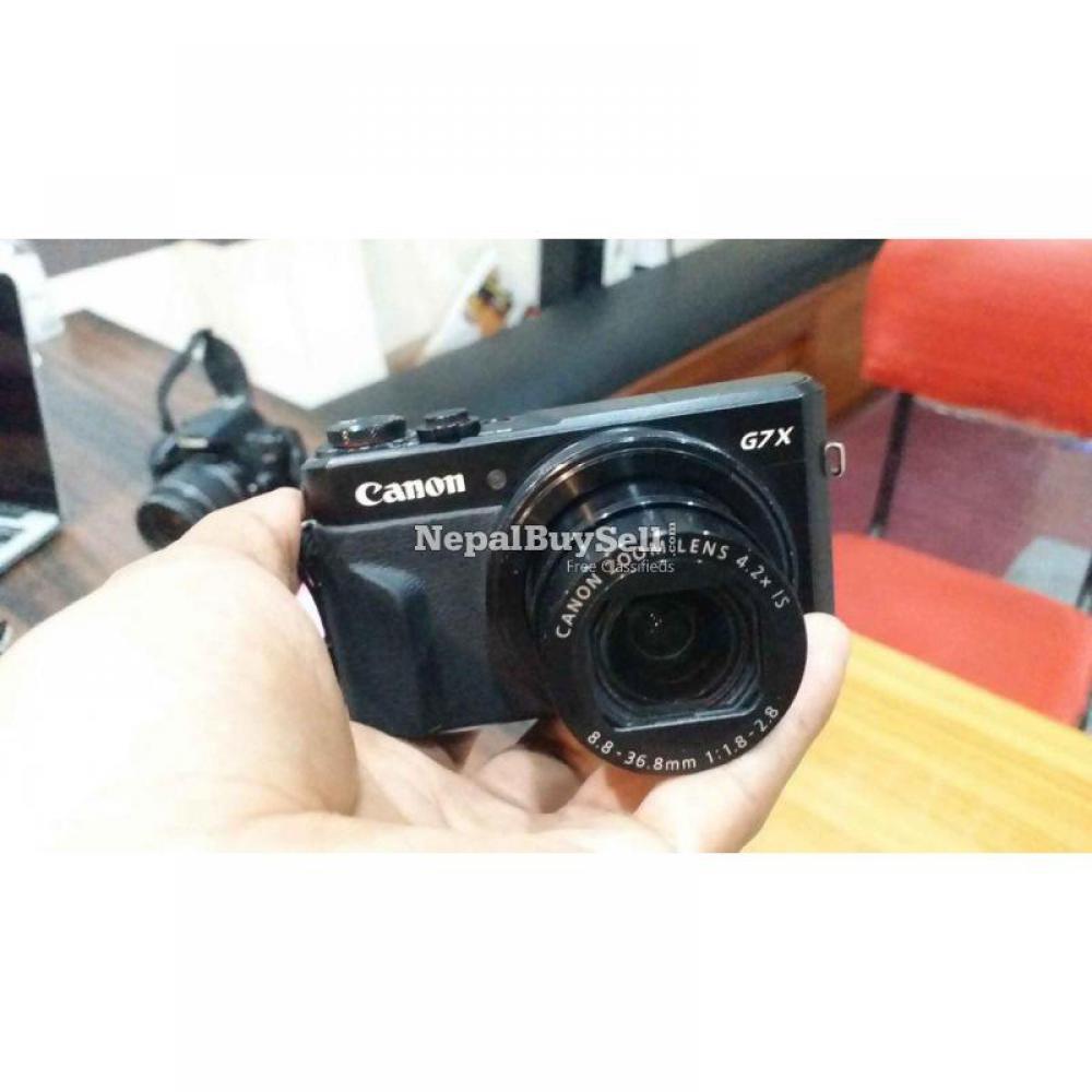 Canon G7X Mark II - 5/8