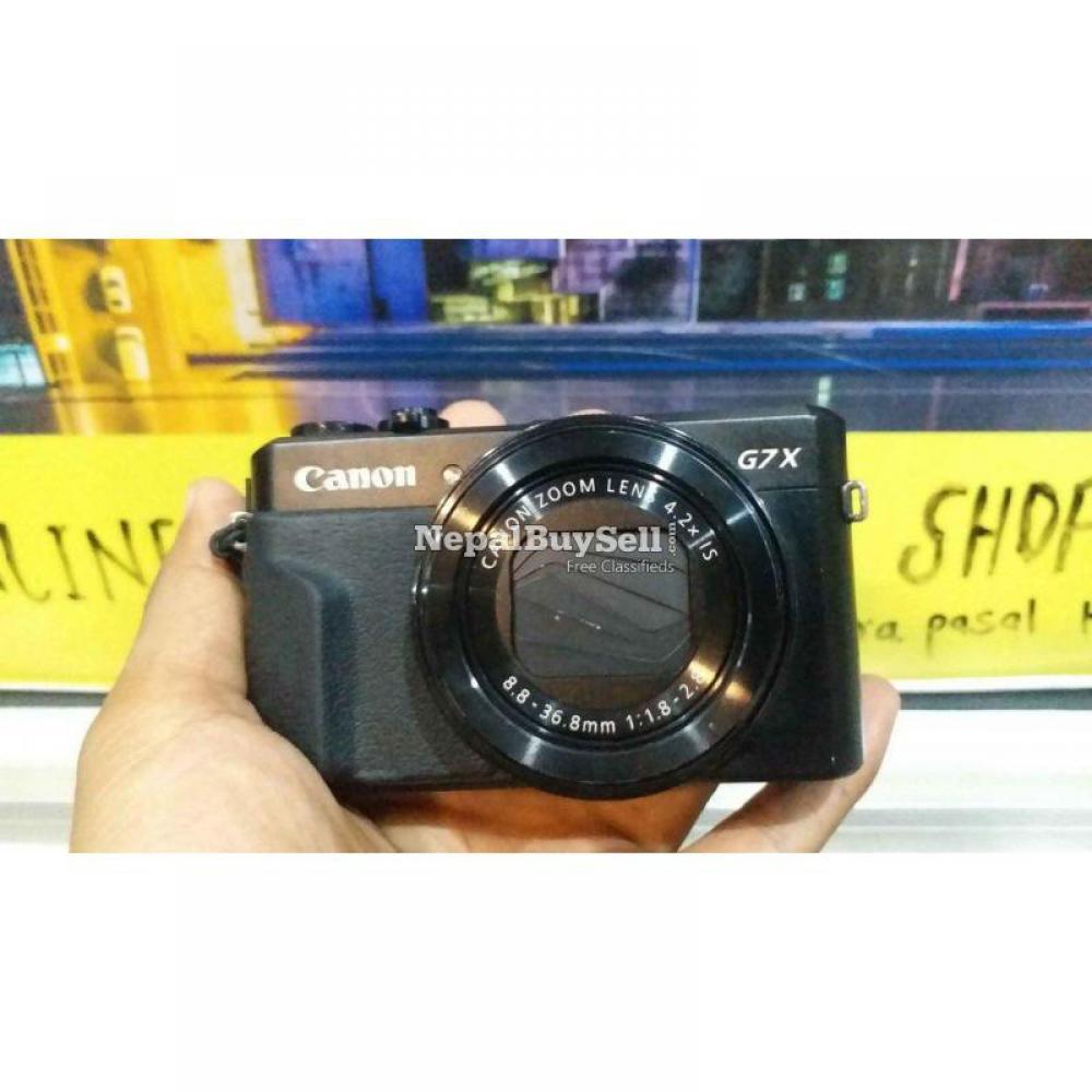 Canon G7X Mark II - 8/8