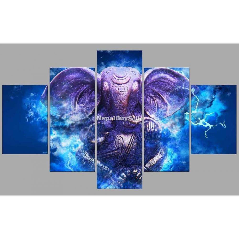 5-Panel Canvas Wall Art - 2/10