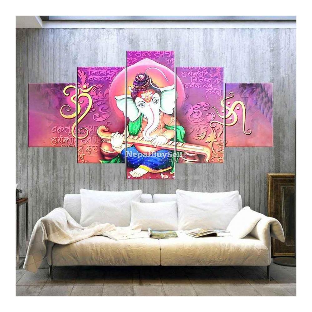 5-Panel Canvas Wall Art - 6/10