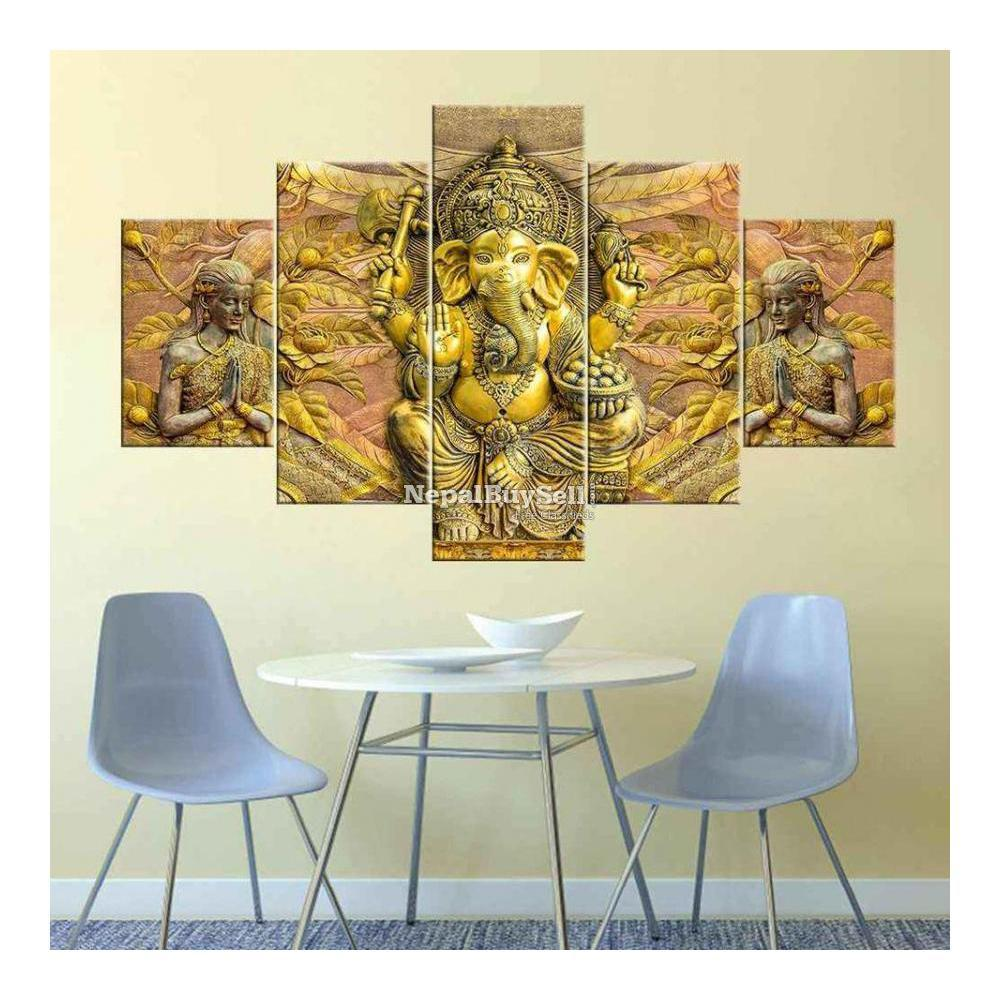 5-Panel Canvas Wall Art - 7/10