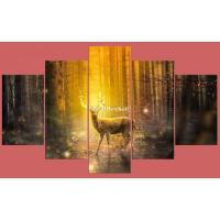 5-Panel Canvas Wall Art - Image 9/10