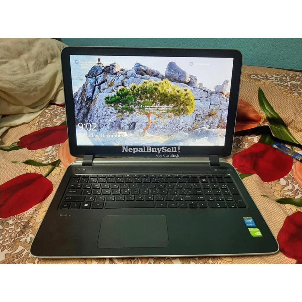 hp pavillion 15 notebook i7 - 1/5