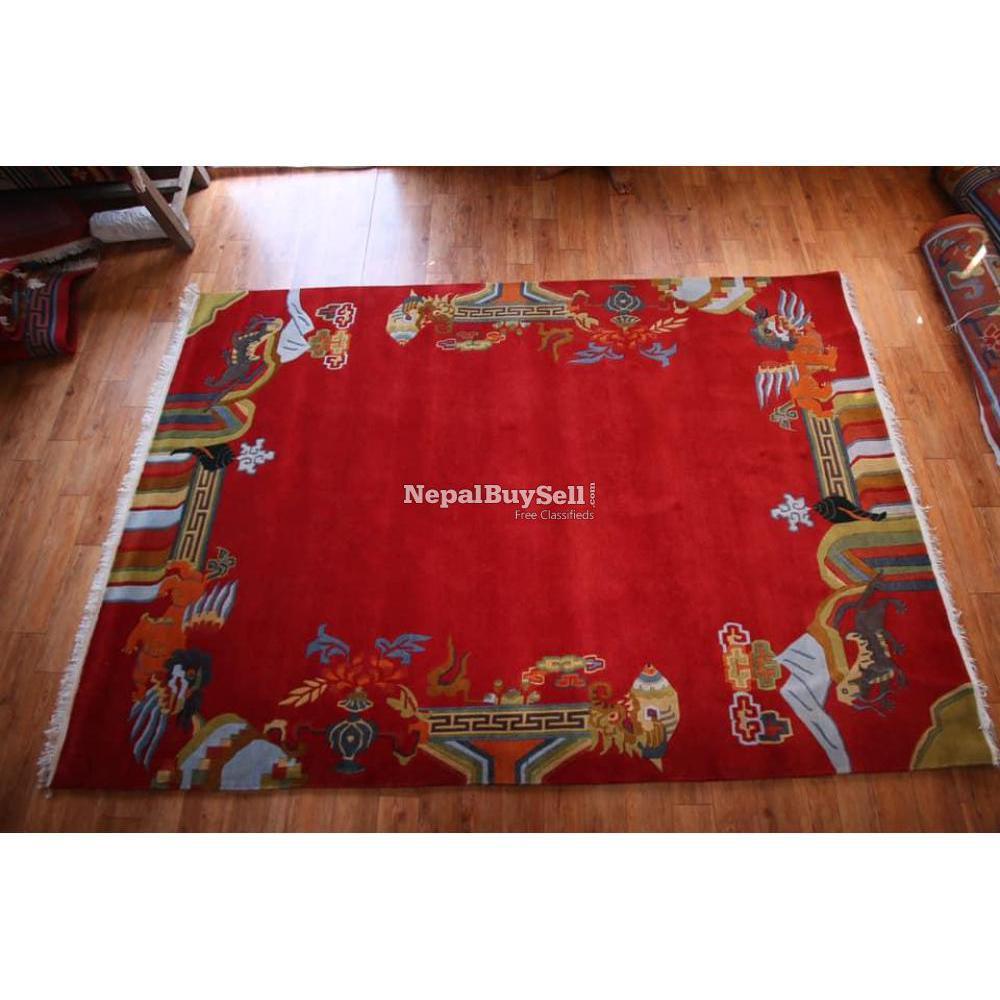 Nepali handmade carpet - 1/16