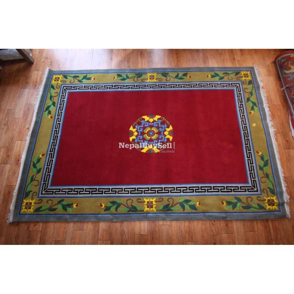 Nepali handmade carpet - 3/16