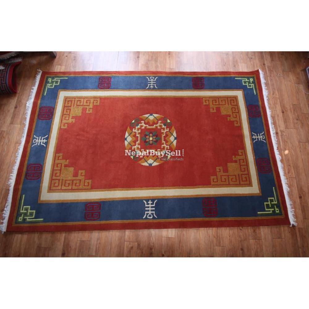 Nepali handmade carpet - 5/16