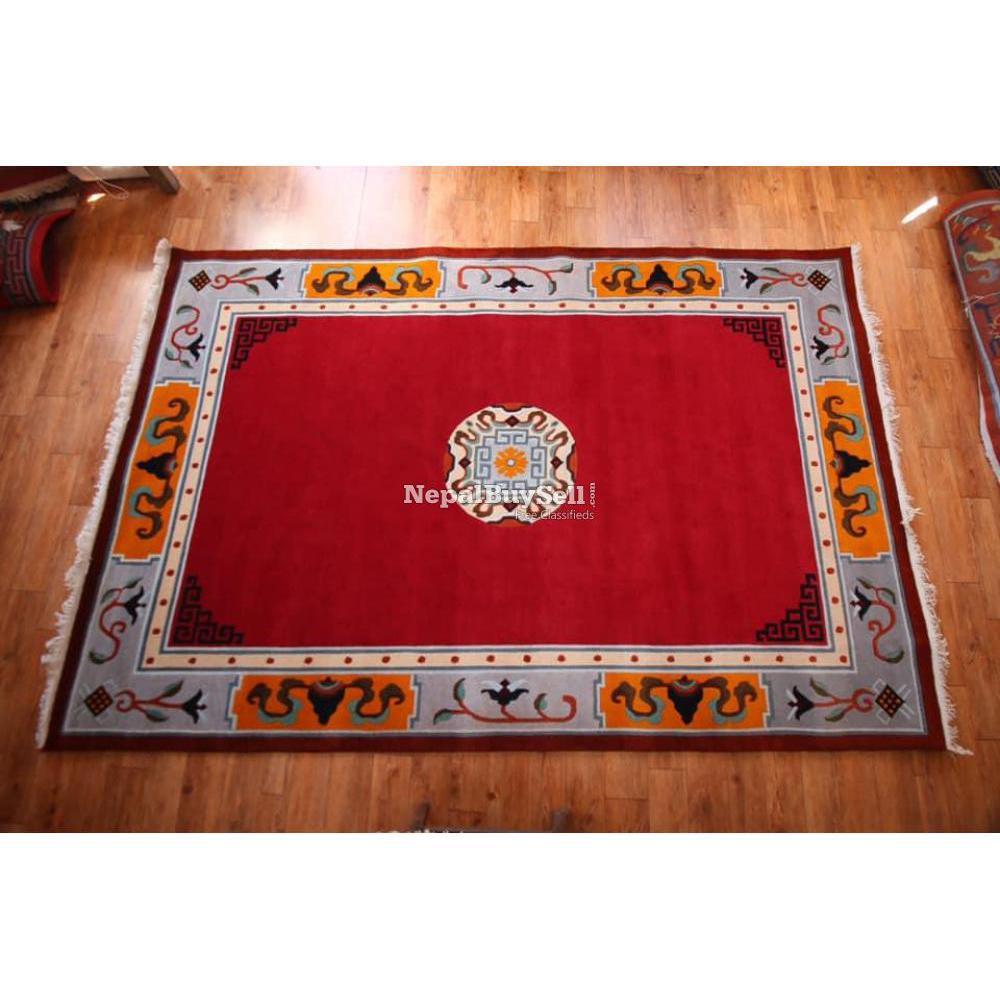 Nepali handmade carpet - 6/16