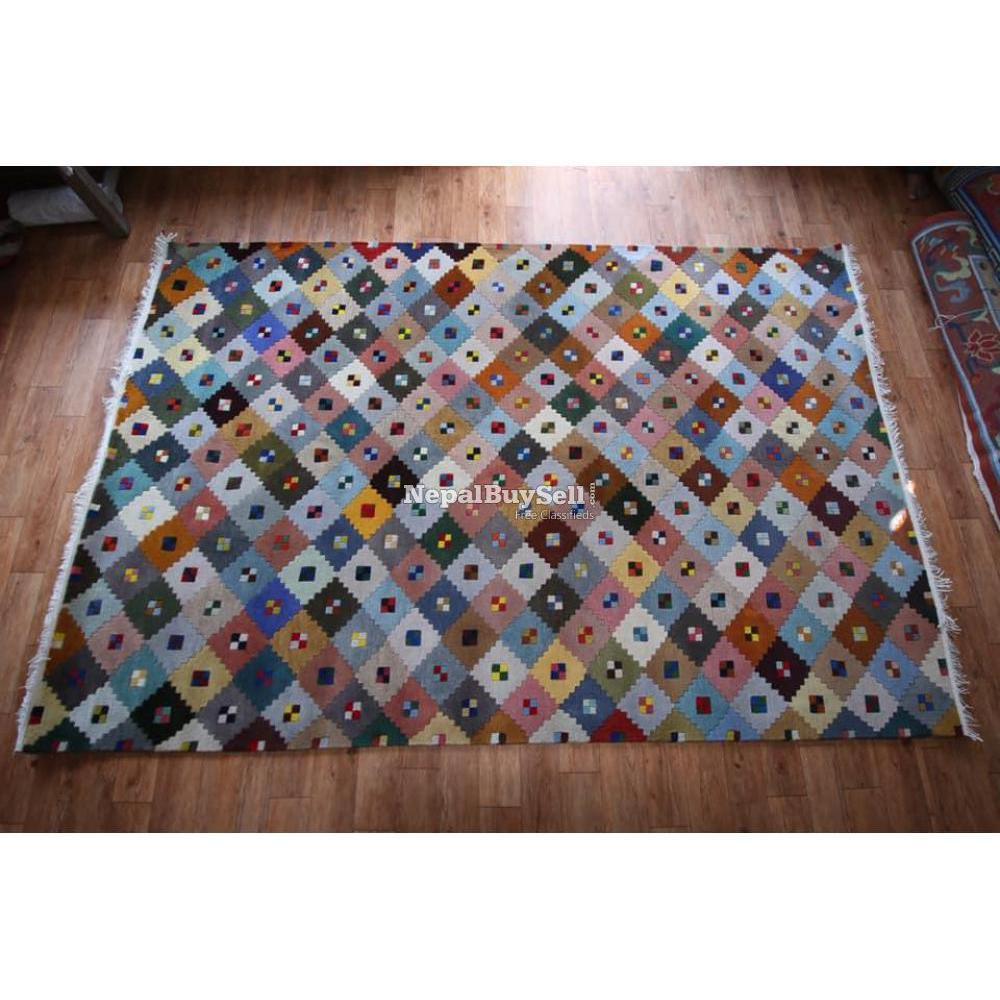 Nepali handmade carpet - 7/16