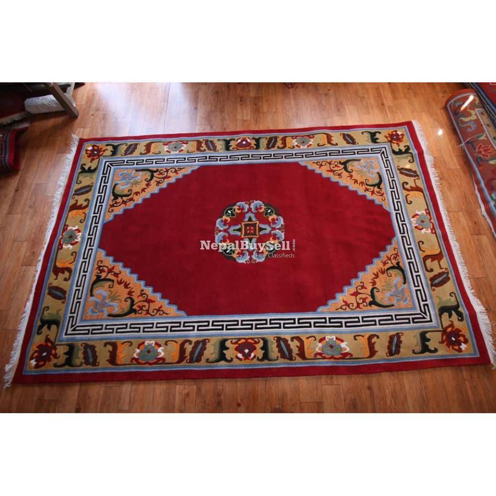 Nepali handmade carpet - 8/16