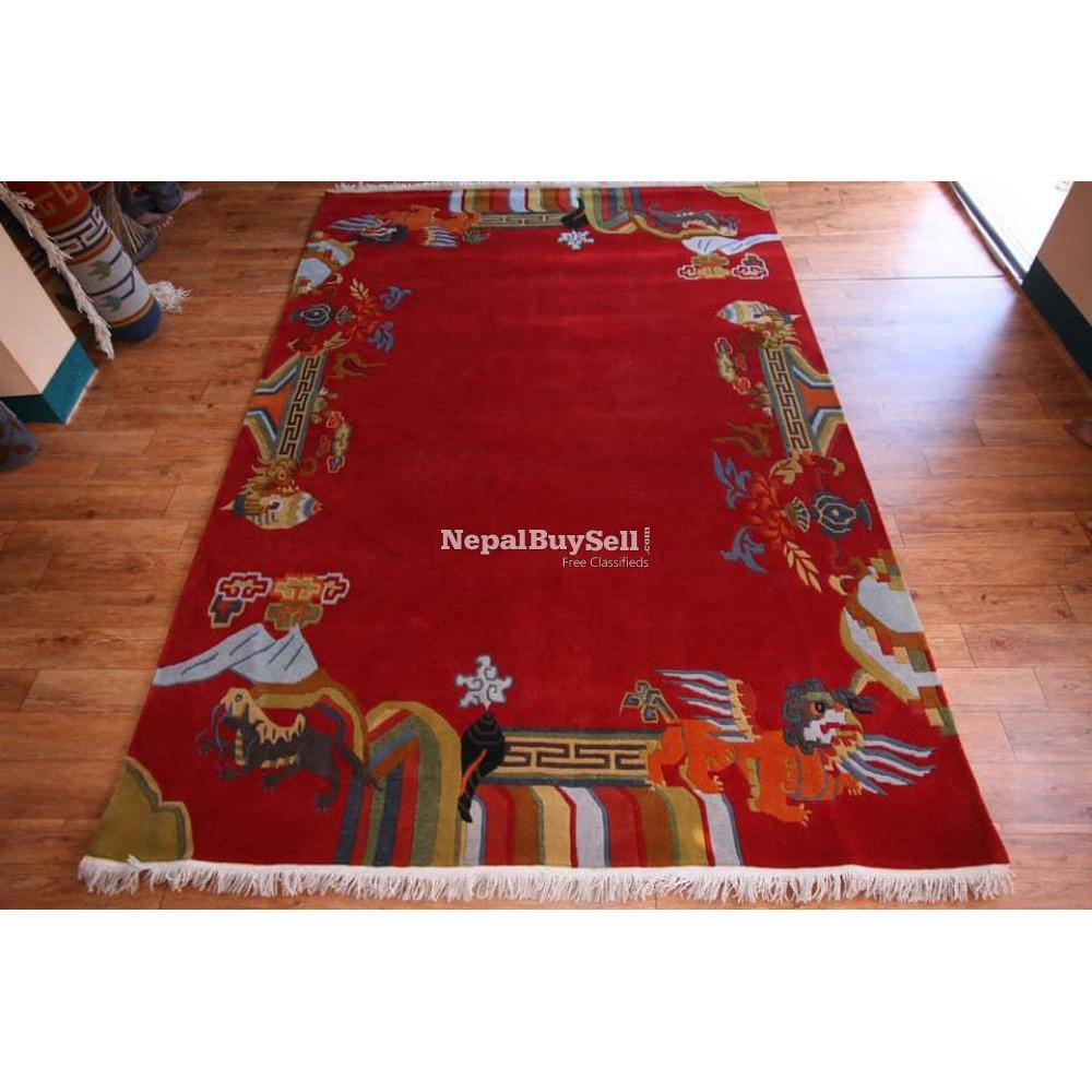 Nepali handmade carpet - 9/16