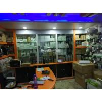 Running Electronic Shop space on Sell